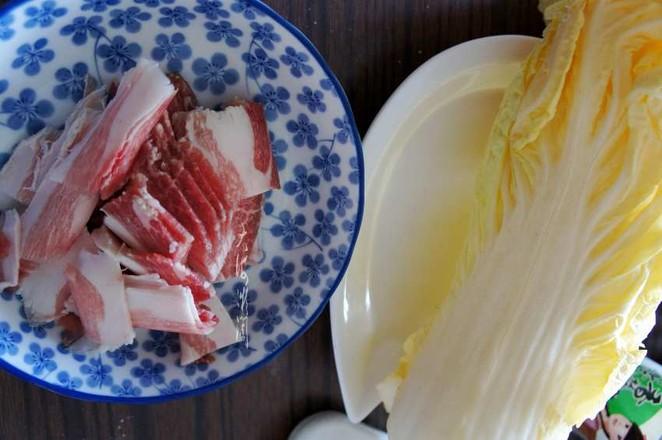 白菜猪肉炖宽粉的做法大全