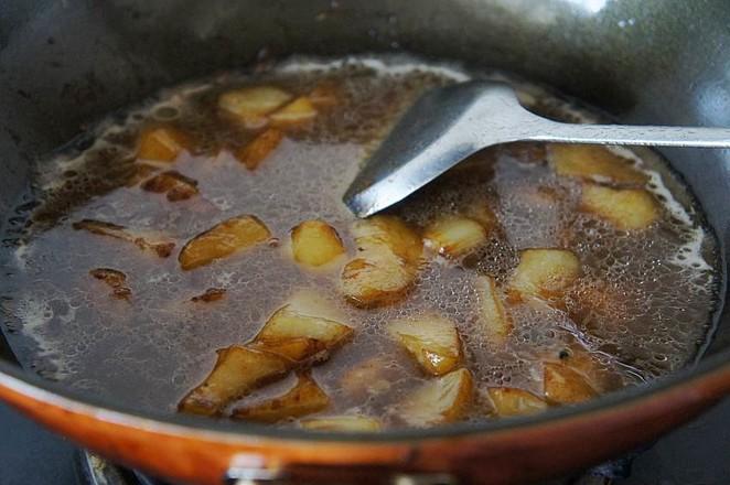 土豆炖牛腩怎么吃