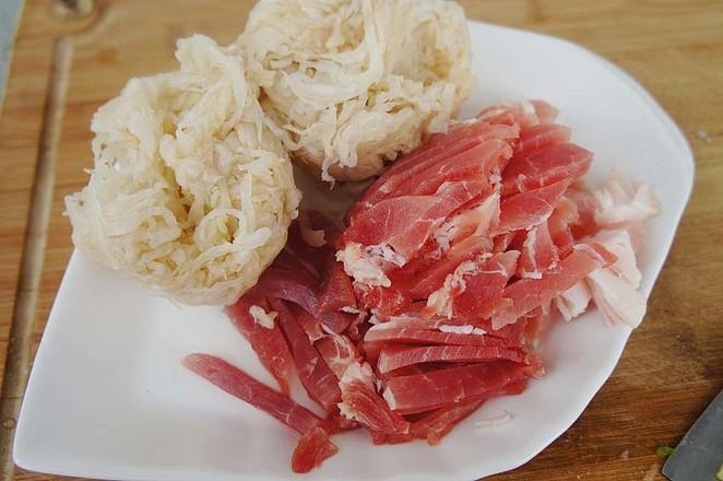 酸菜炒肉丝的做法大全