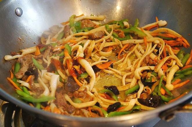 小炒海鲜菇怎么吃