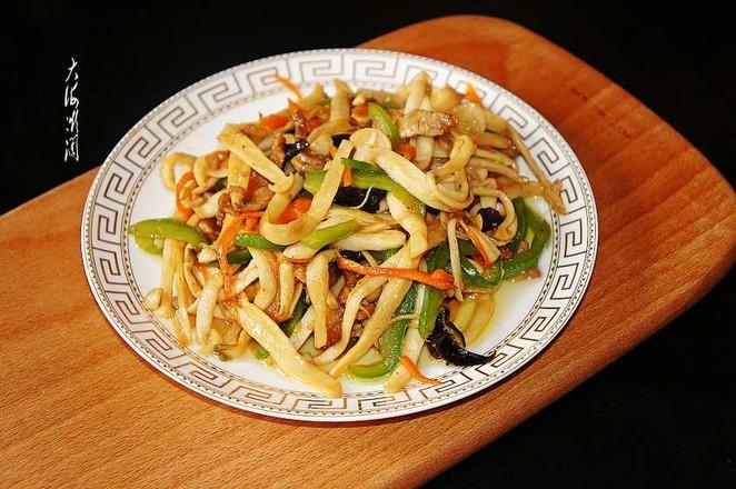 小炒海鲜菇怎么做