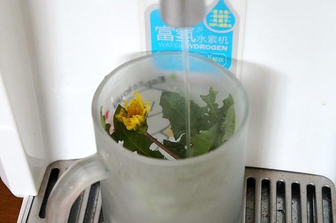 蒲公英花茶的简单做法