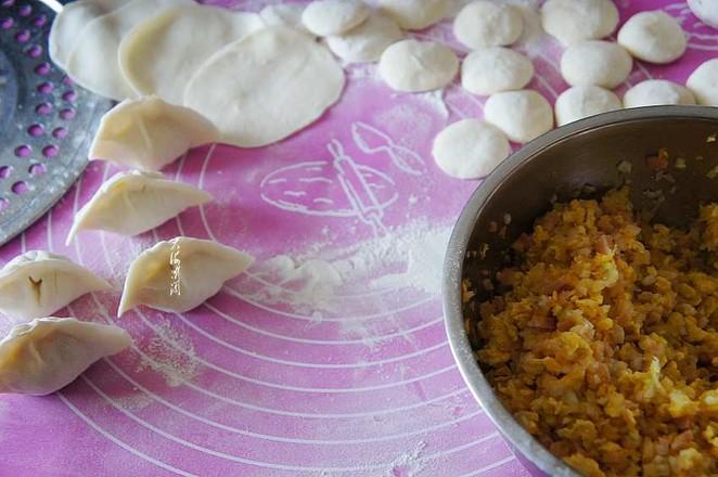 白菜杏鲍菇鸡蛋馅水饺怎么煮