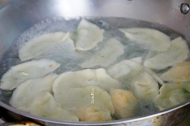 白菜杏鲍菇鸡蛋馅水饺怎么炖