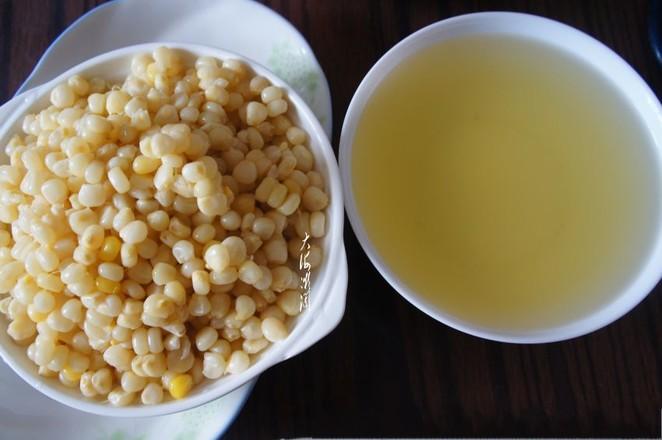 甜玉米汁的家常做法