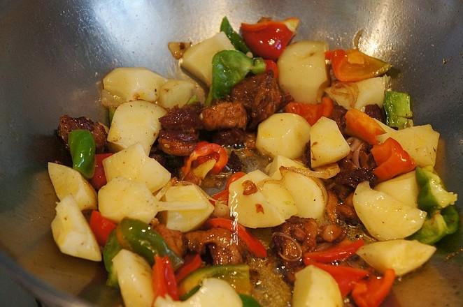 牛肉烧土豆怎么吃