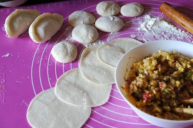 白菜香菇素馅水煎饺怎么煮