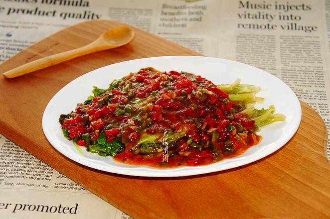 蚝油生菜成品图