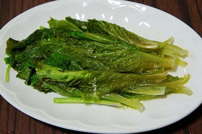 蚝油小生菜的步骤