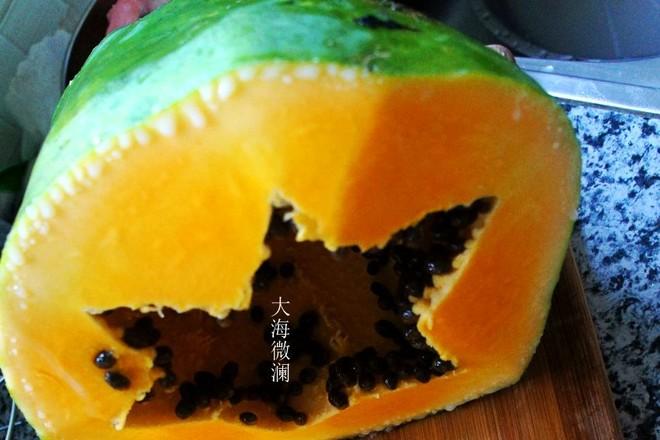 素炒木瓜条的做法大全
