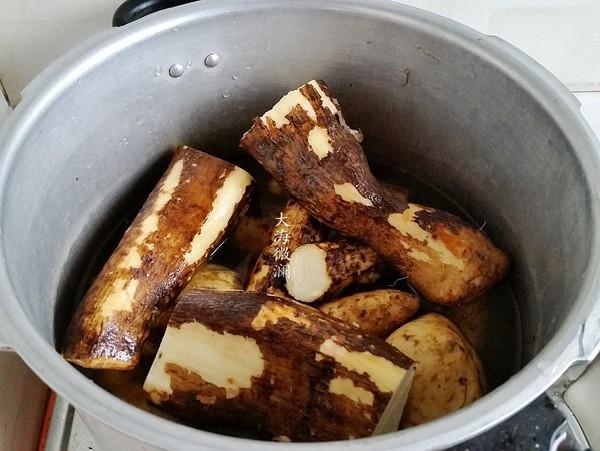 烀红薯山药嫩玉米的家常做法