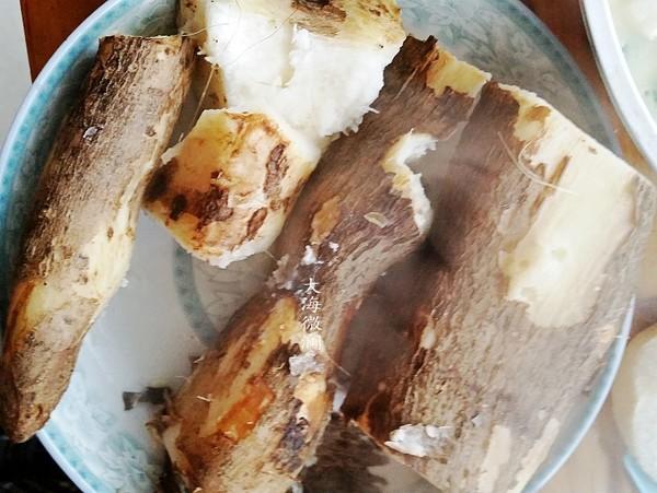 烀红薯山药嫩玉米成品图