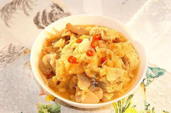 酸菜猪肉炖冻豆腐怎样煸