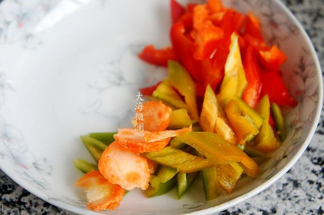 青椒炒小河虾的做法图解