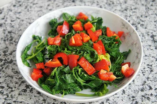 蒜香芹菜叶怎么做