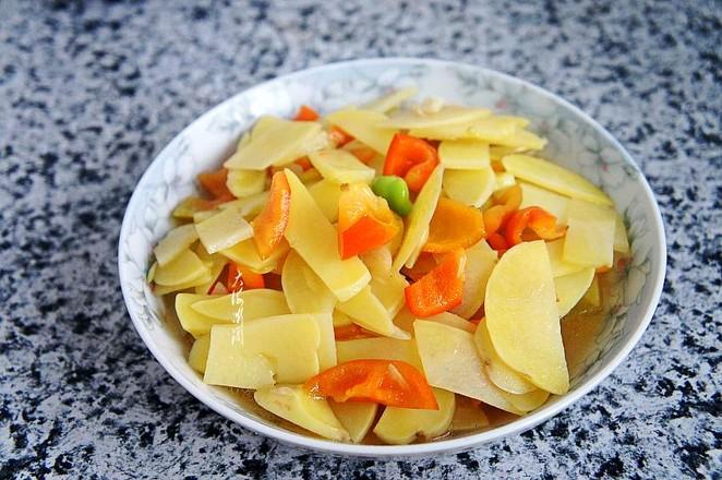 青椒炒土豆片怎么做
