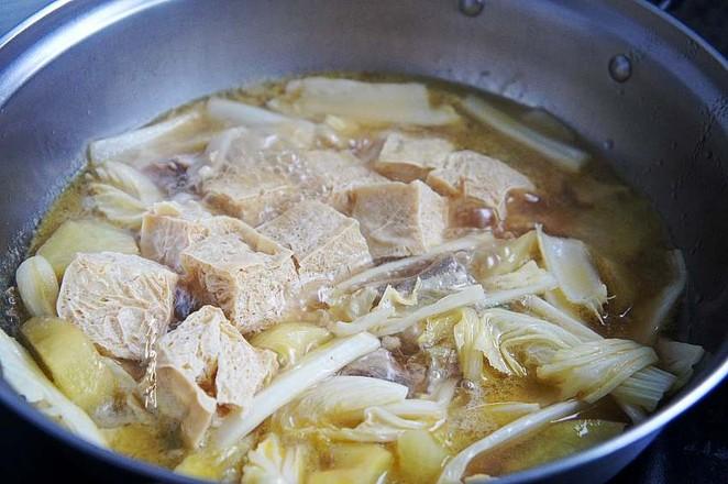 白菜炖冻豆腐怎么做