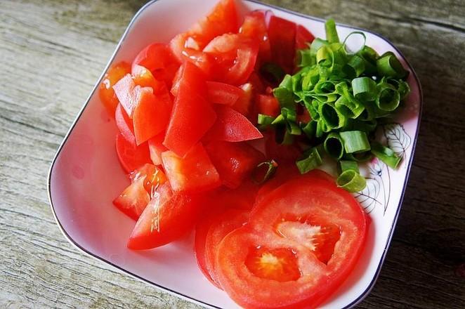 网红番茄鸡蛋面的步骤