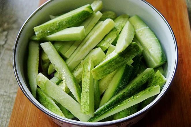 酸黄瓜豇豆角的简单做法