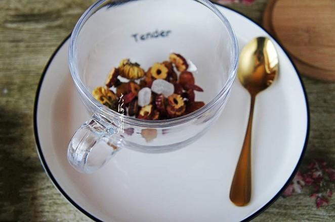 菊花红枣枸杞茶的做法图解