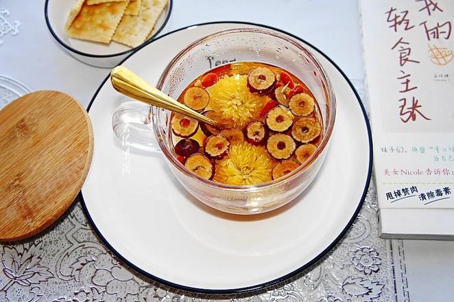 菊花红枣枸杞茶怎么吃