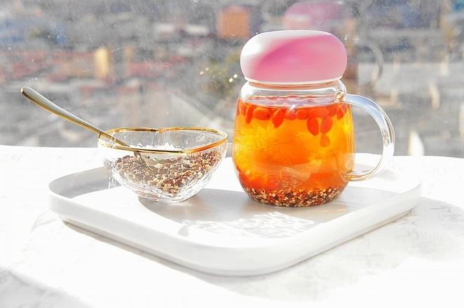 菊花枸杞三色藜麦茶怎么做