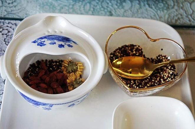 菊花枸杞三色藜麦茶怎么吃
