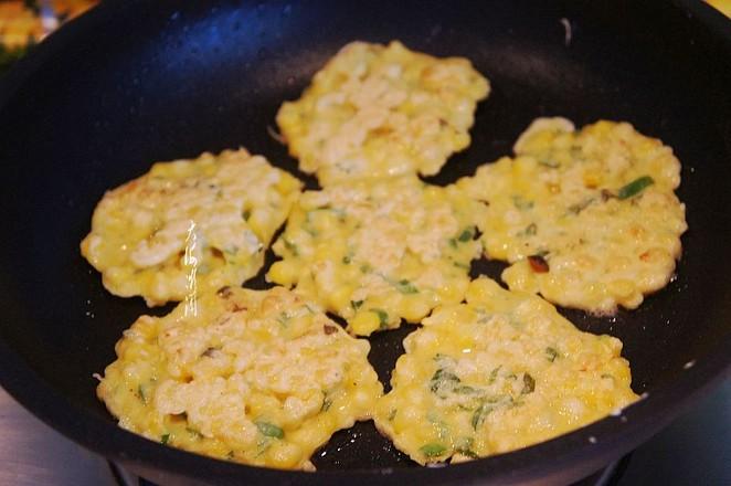 嫩玉米鸡蛋饼怎么做