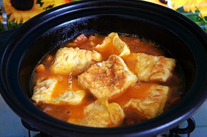 番茄豆腐怎么煮