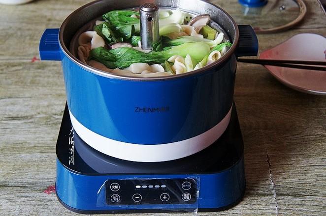 热汤手擀面怎么炖