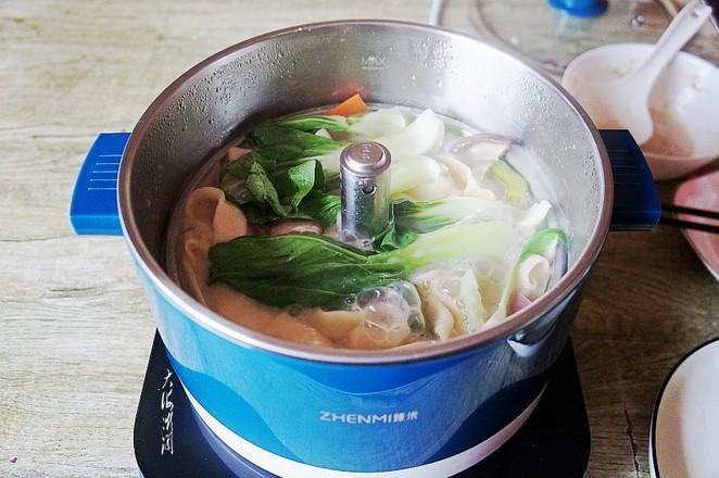 热汤手擀面怎么煮
