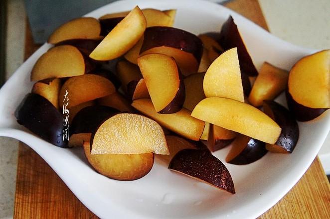 红糖水果罐头的做法图解