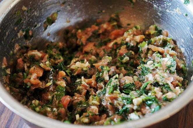 芹菜猪肉馅水饺的家常做法