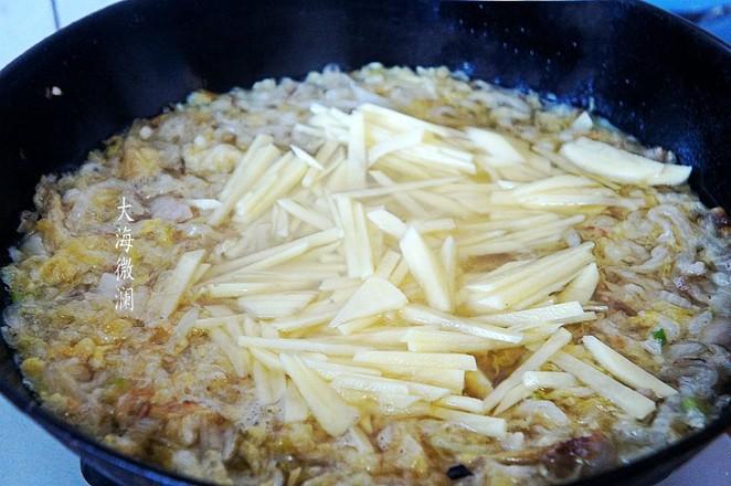 酸菜猪肉炖土豆怎么吃