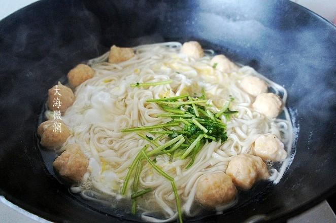 热汤面的简单做法