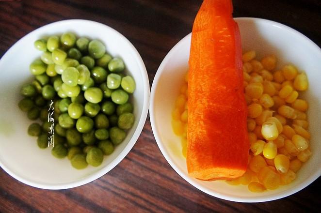 豌豆玉米粒炒虾仁的做法大全
