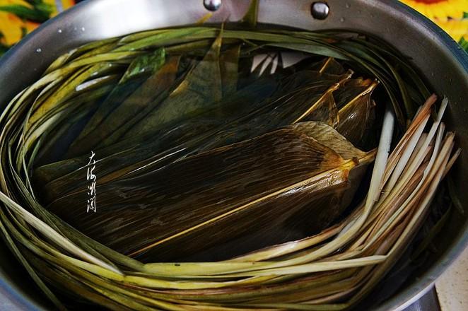 大黄米粽子的步骤
