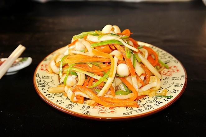 小炒白玉菇怎么煮