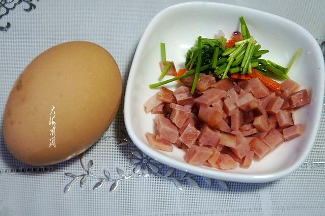 火腿煎蛋的做法大全