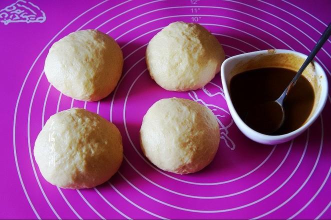 芝麻酱花式面包的做法图解