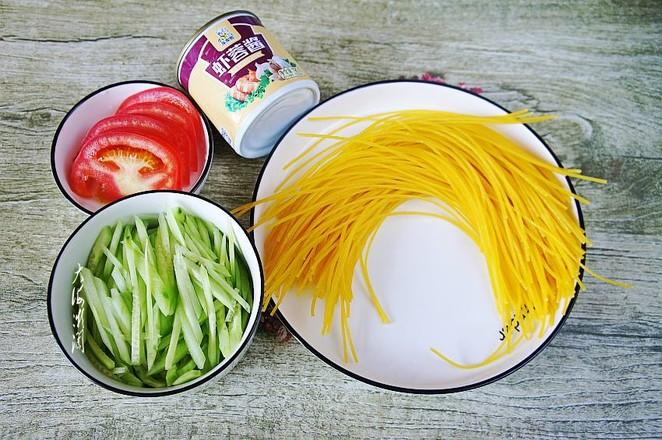 凉拌玉米面条的做法图解