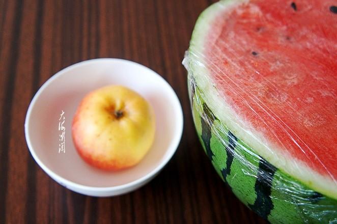 鲜榨苹果西瓜汁的做法大全