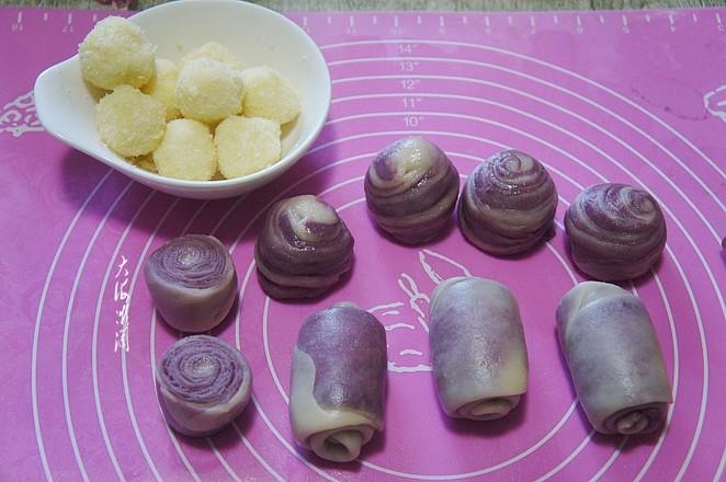 紫薯椰蓉酥皮月饼怎么煸
