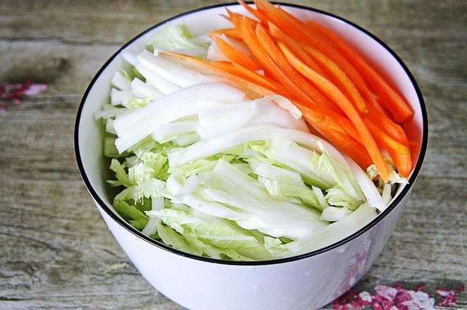 白菜冻豆腐炖粉条的做法图解
