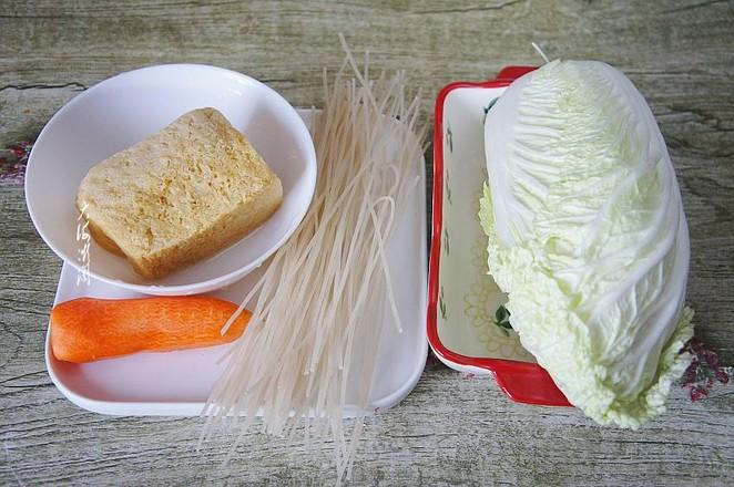 白菜冻豆腐炖粉条的做法大全