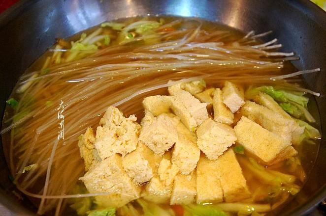 白菜冻豆腐炖粉条怎么炒