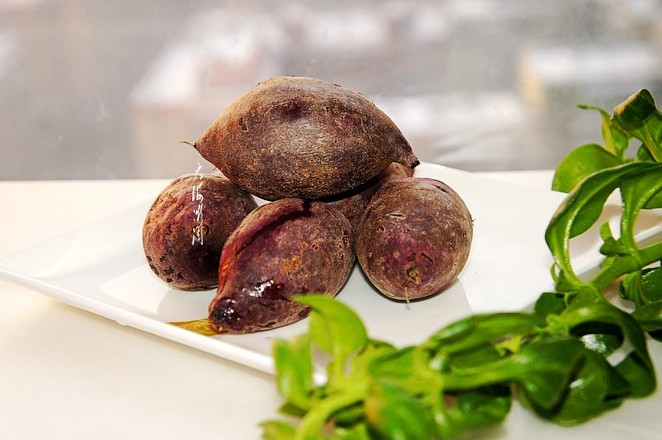 蒸紫薯成品图