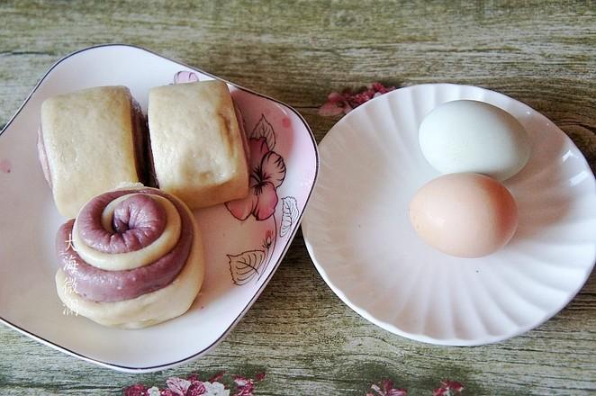蛋抱馒头的做法大全