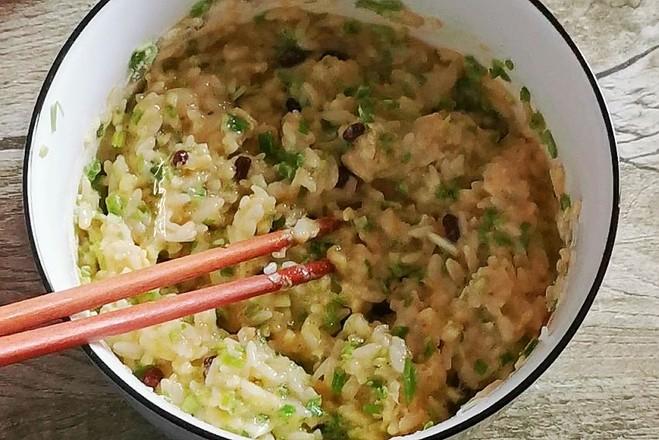 米饭饼的简单做法
