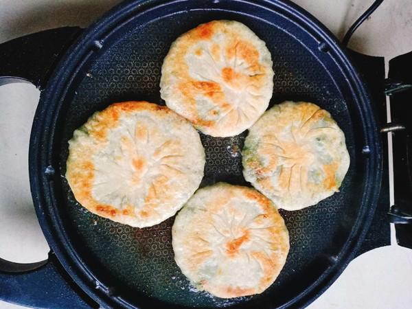 香菜肉饼的制作